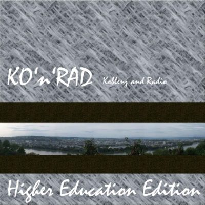 KO-N-RAD HE 27 — K fuer Kultur - German Dream und Studylife